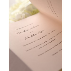 Top tips for organising your wedding invitations