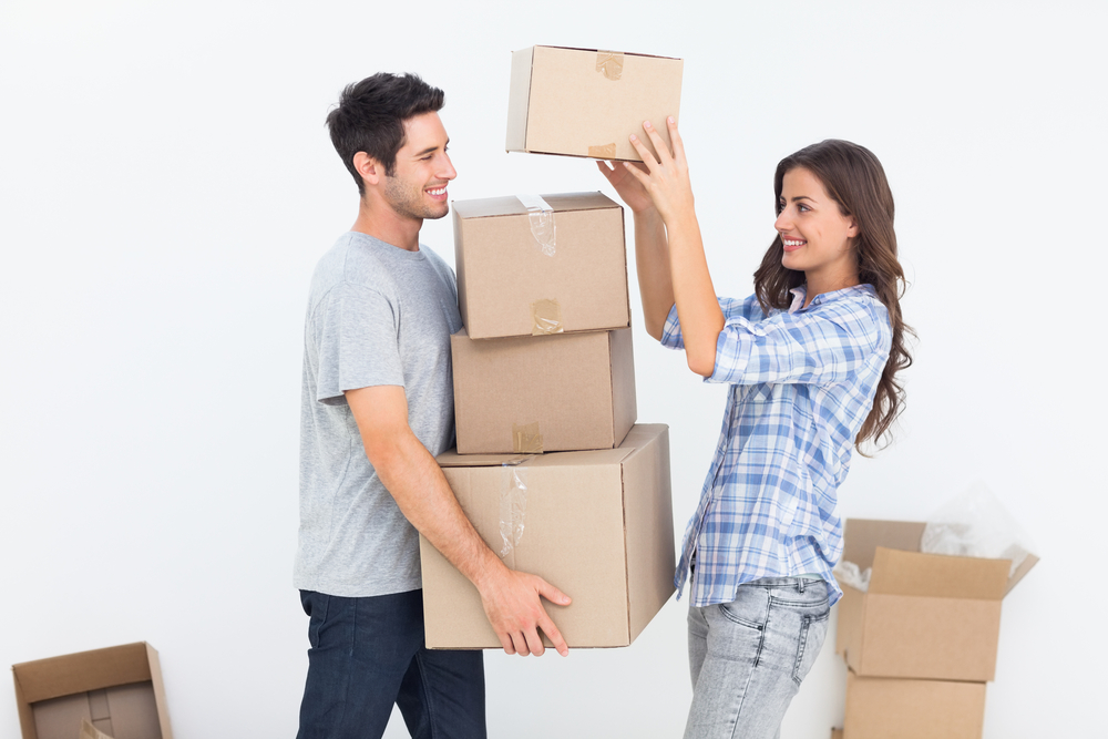 A guide for newlyweds moving in together 1