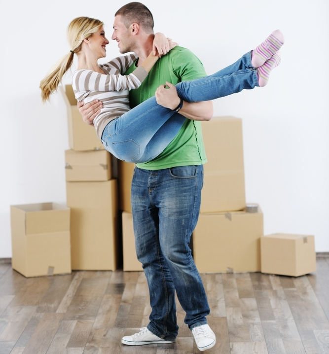 A guide for newlyweds moving in together 2