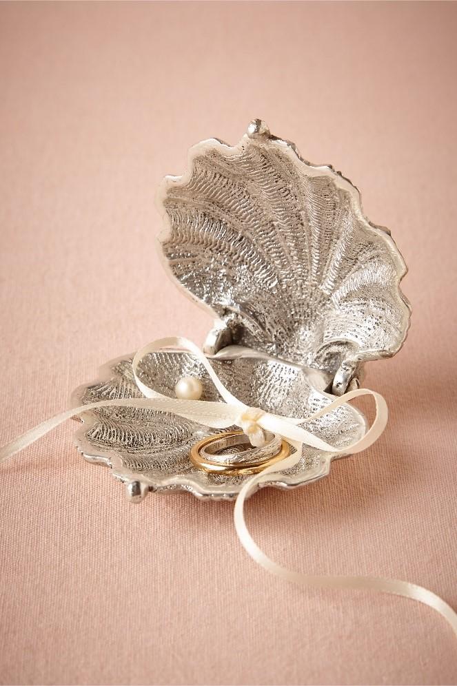 wedding box seashell