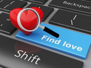 keyboard with find love button